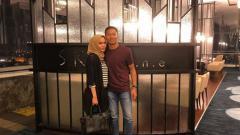 Indosport - Awan Setho dan Amalia Rahmi