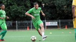Penyerang baru Bhayangkara FC Nikola Komazec.