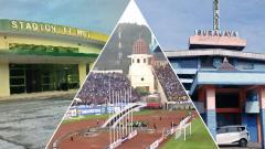 Indosport - 3 Stadion terkecil di Liga 1 2018