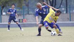 Indosport - Cilegon United vs Jepang U-19.