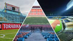 Indosport - 3 Stadion terbesar di Liga 1 2018