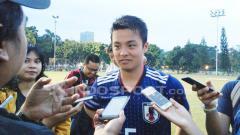 Indosport - Kapten Timnas Jepang U-19, Mitsuki Saito.