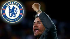 Indosport - Luis Enrique, calon pelatih Chelsea.
