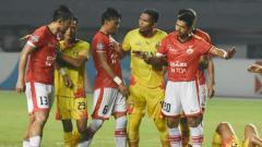 Indosport - Bhayangkara FC vs Persija Jakarta.