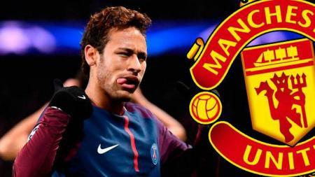 Neymar diisukan diincar oleh Manchester United. - INDOSPORT