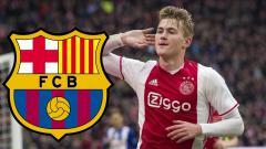 Indosport - Matthijs de Ligt diincar Barcelona.