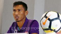 Indosport - Zulkifli Syukur dalam jumpa pers.