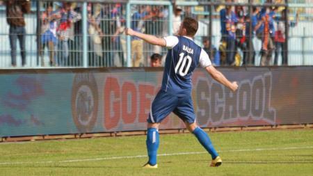 Balsa Bozovic (Arema FC). - INDOSPORT