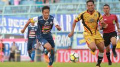 Indosport - Arema FC vs Mitra Kukar.
