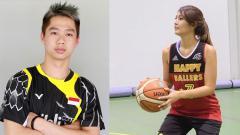 Indosport - Kevin Sanjaya dan Maria Selena