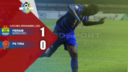 Babak pertama Persib Bandung vs PS TIRA. - INDOSPORT