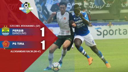 Hasil pertandingan Persib Bandung vs PS TIRA. - INDOSPORT