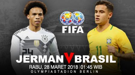 Prediksi Jerman vs Brasil. - INDOSPORT