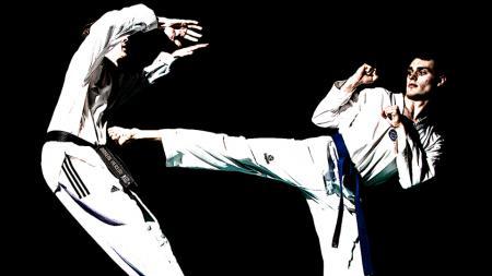 Ilustrasi olahraga taekwondo yang sedang diseriusi oleh Rafathar, buah hati dari pasangan selebriti Raffi Ahmad dan Nagita Slavina. - INDOSPORT