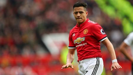 Alexis Sanchez, pemain bintang Man United. - INDOSPORT