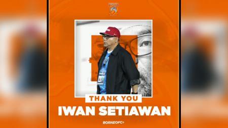 Iwan Setiawan, mantan pelatih Borneo FC. - INDOSPORT