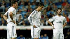 Indosport - Pemain Real Madrid, Isco, Cristiano Ronaldo dan Bale.