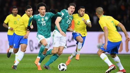 Jerman vs Brasil. - INDOSPORT