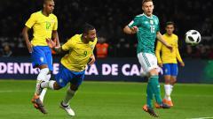 Indosport - Gabriel Jesus saat mencetak gol.