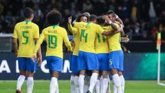 Indosport - Saat merayakan gol Jesus