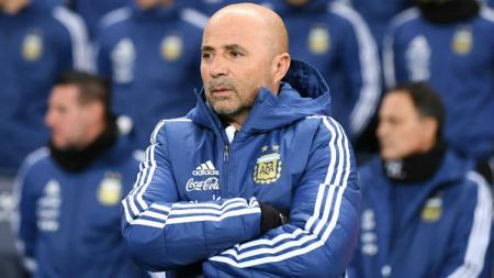 Pelatih Argentina Jorge Sampaoli. - INDOSPORT