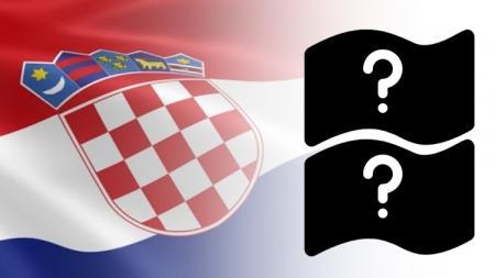 Bendera Kroasia. - INDOSPORT