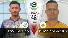 Indosport - Prediksi PSMS Medan vs Bhayangkara FC.