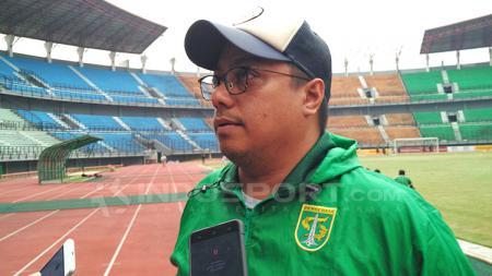 Manajer Persebaya Surabaya Chairul Basalamah. - INDOSPORT