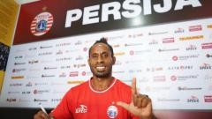 Indosport - Frengky Kogoya, winger baru Persija.