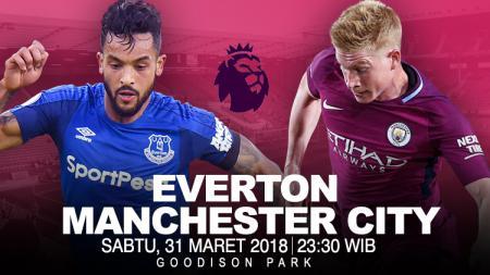 Prediksi Everton vs Manchester City. - INDOSPORT