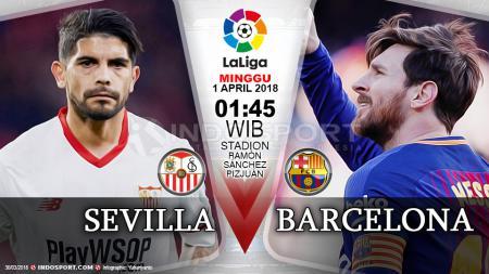 Prediksi Sevilla vs Barcelona - INDOSPORT