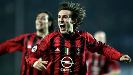 Andrea Pirlo saat membela AC Milan. - INDOSPORT