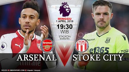 Prediksi Arsenal vs Stoke City - INDOSPORT