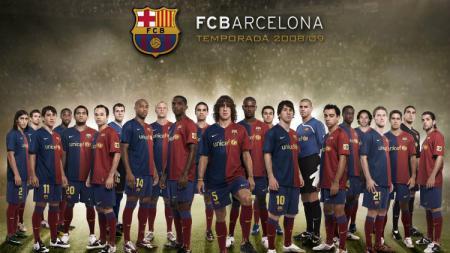 Barcelona musim 2008/2009 - INDOSPORT