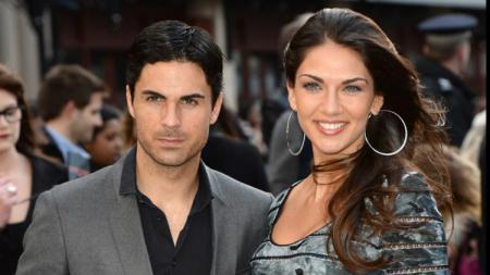 Lorena Bernal dan Mikel Arteta - INDOSPORT