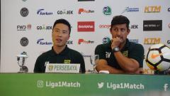 Indosport - Press conference Persebaya jelang laga mennghadapi Perseru.