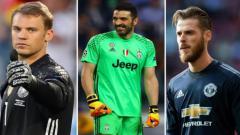 Indosport - Penjaga gawang terbaik dunia
