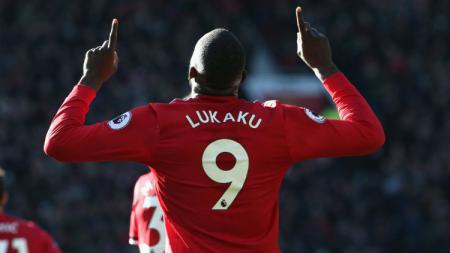 Romelu Lukaku, striker Manchester United. - INDOSPORT