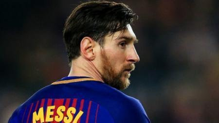 Bintang Barcelona, Lionel Messi - INDOSPORT