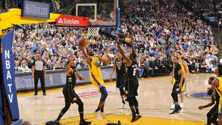 Golden State Warriors vs Sacramento Kings. - INDOSPORT