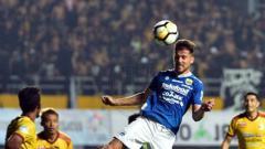 Indosport - Sriwijaya FC vs Persib.