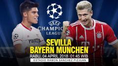 Indosport - Prediksi Sevilla vs Bayern Munchen.