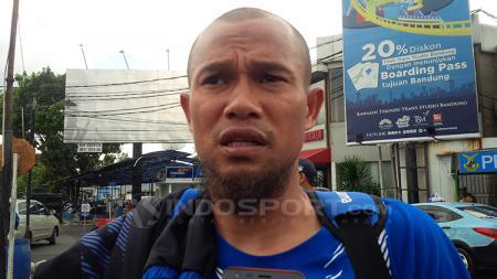Supardi Nasir, kapten klub sepak bola Persib Bandung. - INDOSPORT