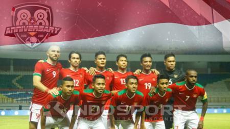 Timnas Indonesia. - INDOSPORT