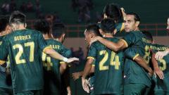 Indosport - Selebrasi pemain PS TIRA.