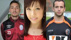 Indosport - Davide Lovinella, Melo Imai, dan Jonathan de Falco.