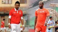 Indosport - Bambang Pamungkas dan Greg Nwokolo