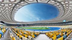 Indosport - Stadion Olimpiade Kiev.
