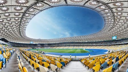 Stadion Olimpiade Kiev. - INDOSPORT