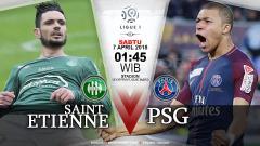 Indosport - Prediksi Saint-Etienne vs Paris Saint-Germain